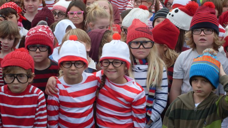 Newquay Junior celebrates Children in Need