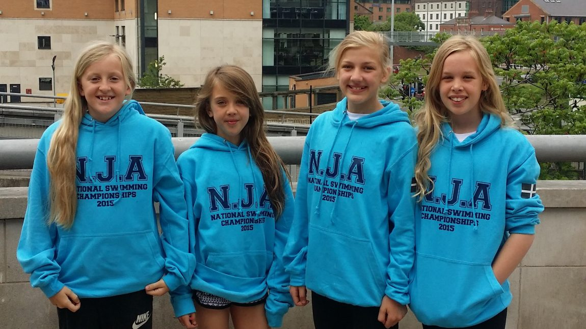 NJA Compete in National Swimming Championships
