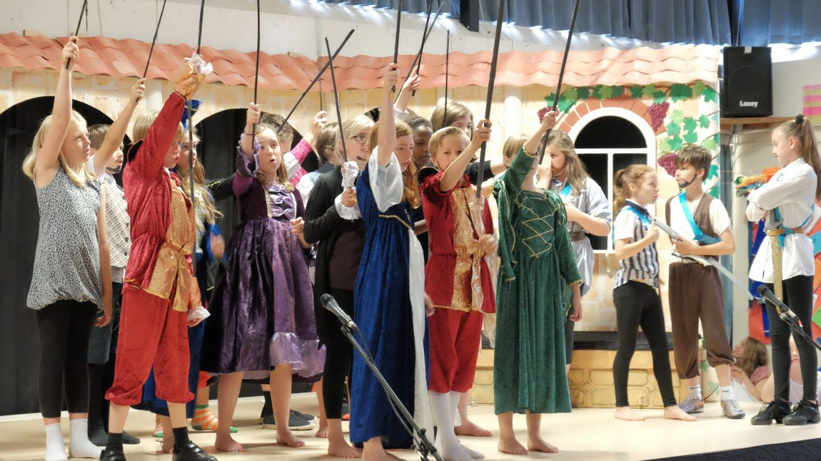 Romeo & Juliet Success for Year 6 Production