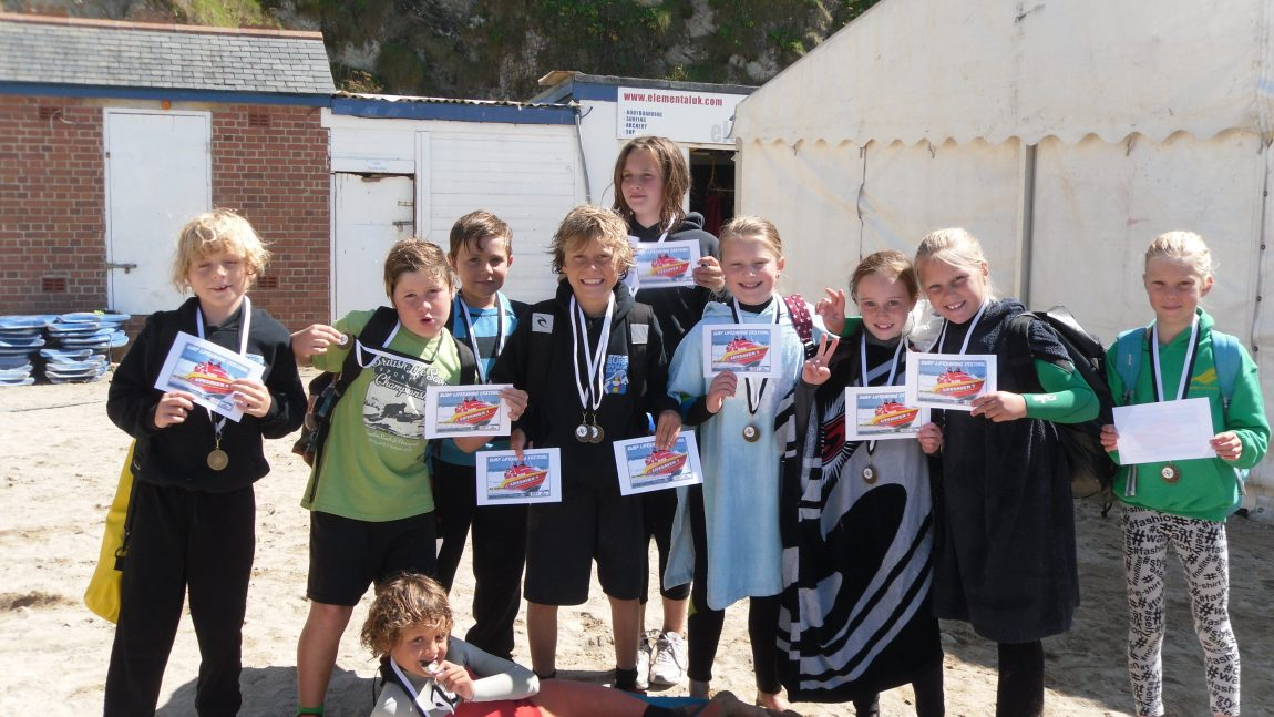 Strong Showing at Newquay Primary Surf Lifesaving Championships