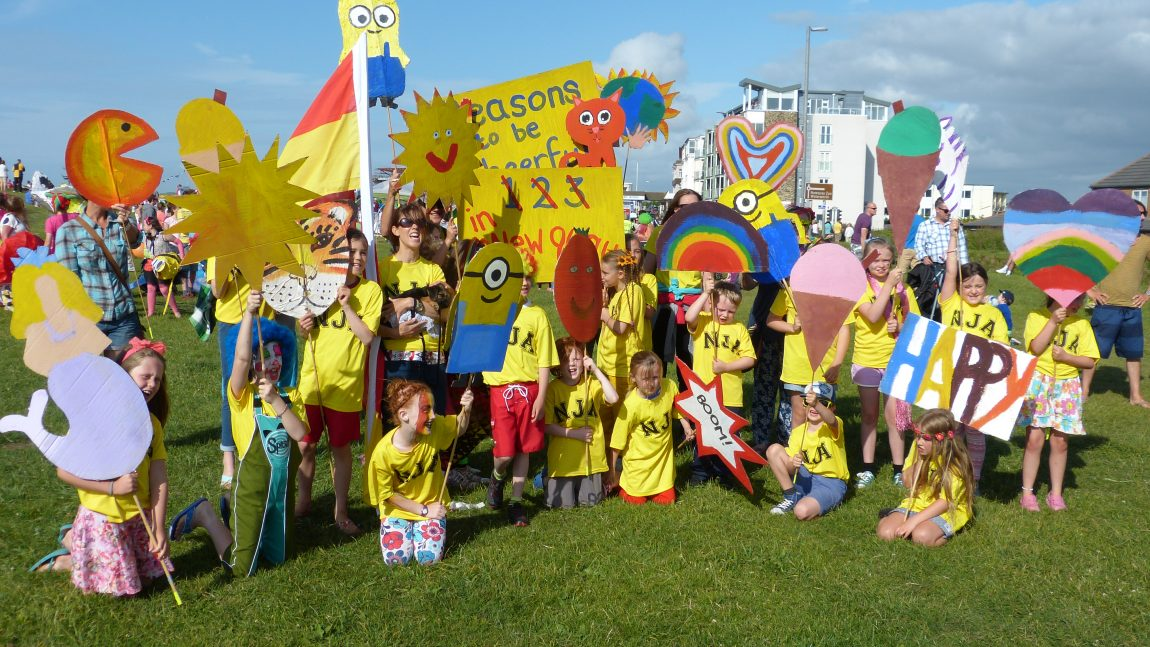 Reasons to Be Cheerful at Newquay Carnival