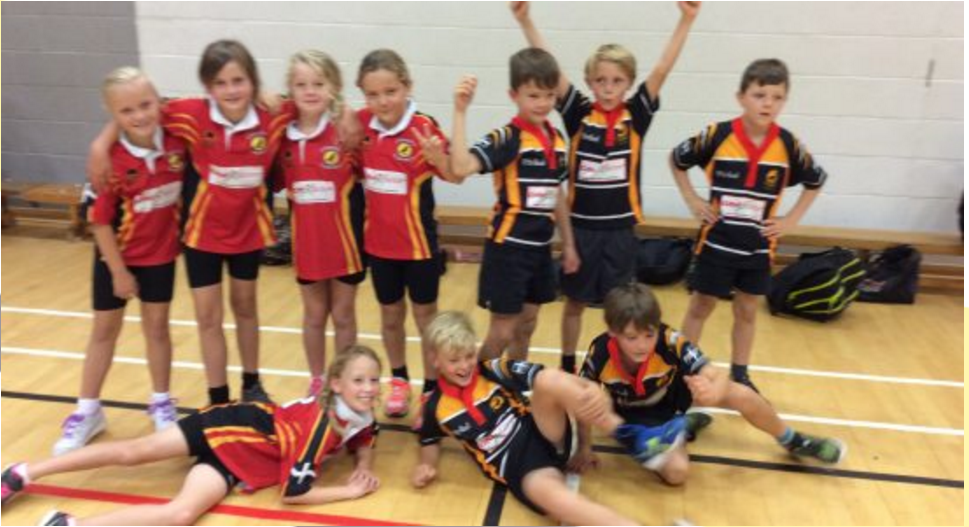 Newquay Junior Academy finished 3rd in Dodgeball Competition