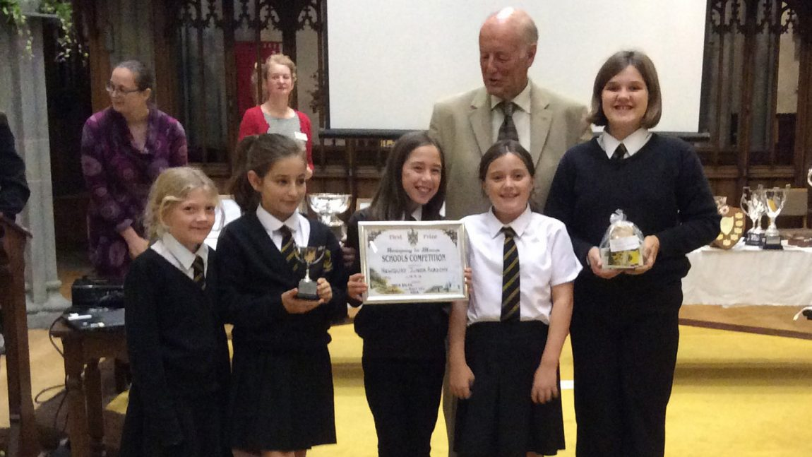 Newquay in Bloom prize giving at St Michael's Church