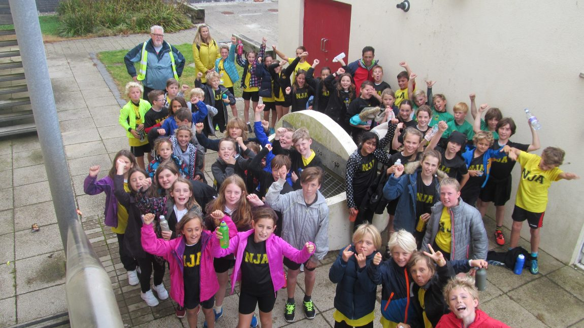 Cross Country at Newquay Sports Centre