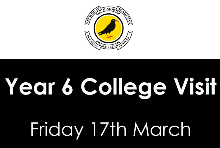 Year 6 Cornwall College Visit – 17th March