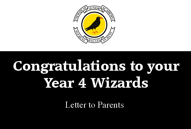 Congratulations to your Year 4 Wizards