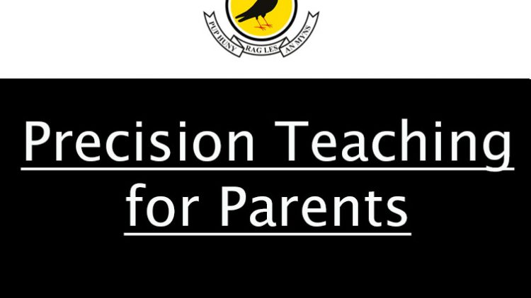 Precision Teaching for Parents