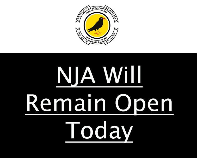 NJA Will Remain Open Today