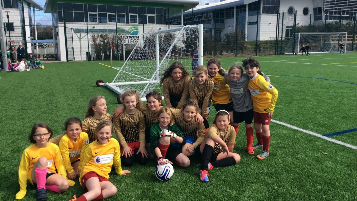 Newquay Junior Academy girls qualify for the Cornwall School Games!