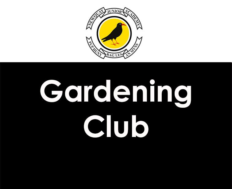 Reminder – Gardening Club