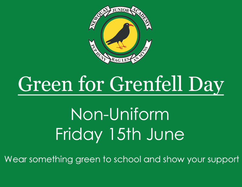 Green for Grenfell – Non-Uniform Day