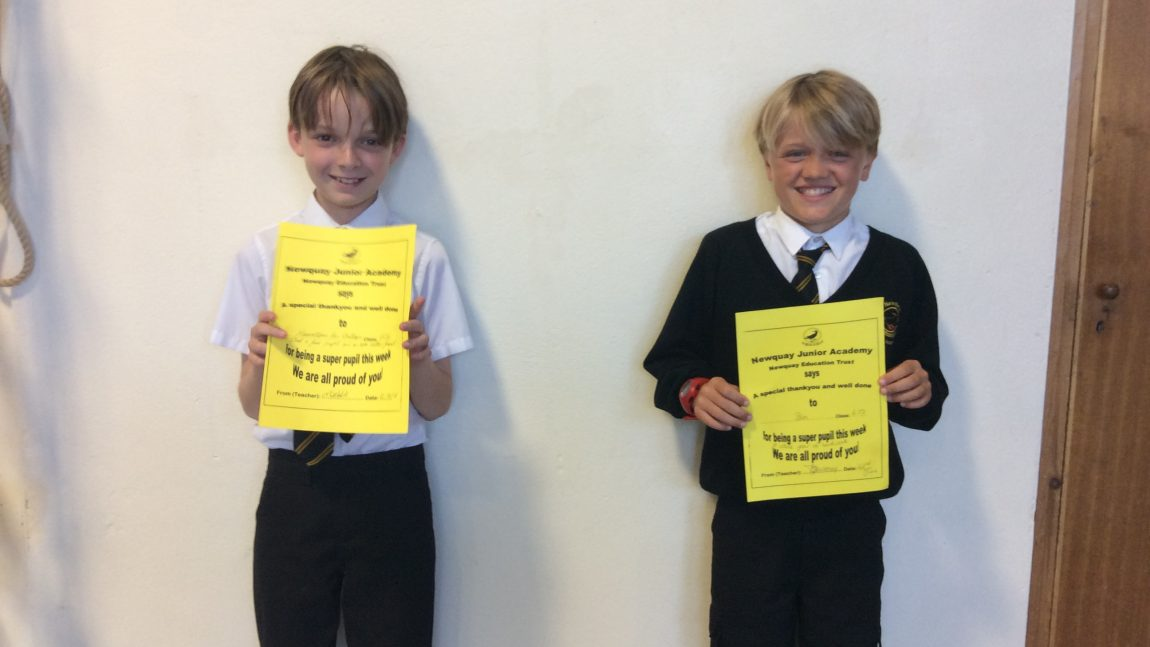 Yellow Certificate Winners