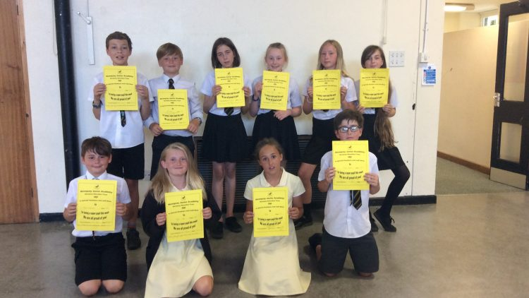 Medal and Certificate Winners 29-06-2018
