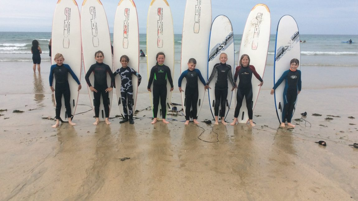 Year 5 – Surfing Taster Session
