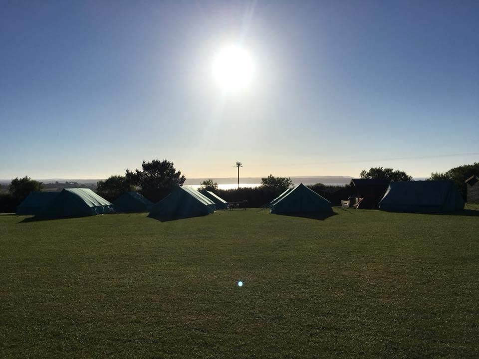 Year 5 Camp Morning