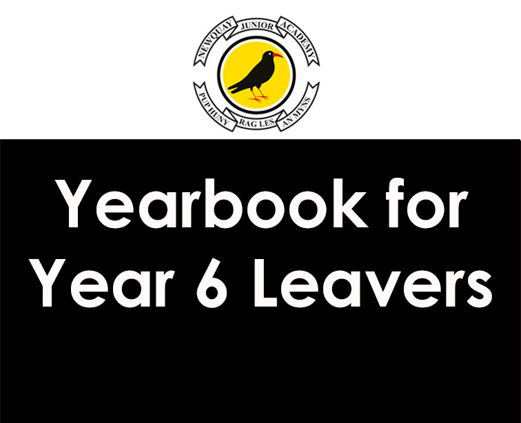 Yearbook for Year 6 Leavers