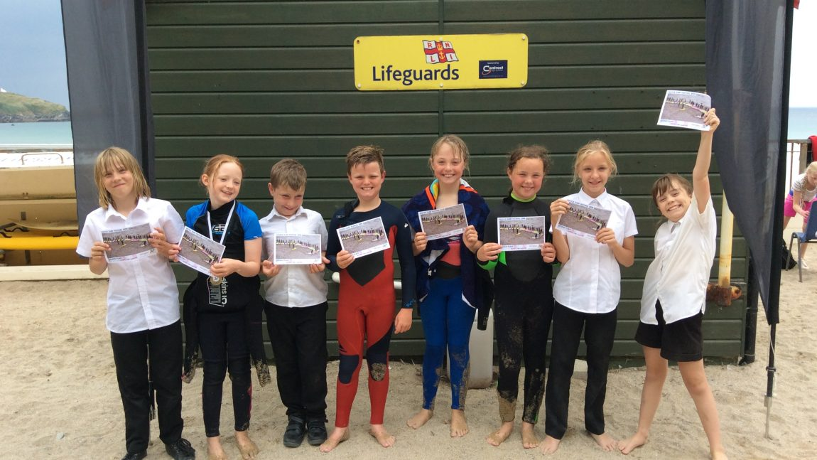 Year 5 Surfing Competition