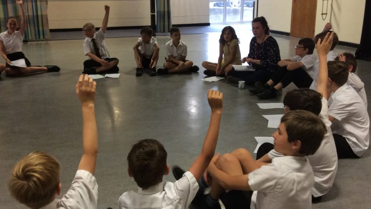 Year 6 – Production Rehearsals