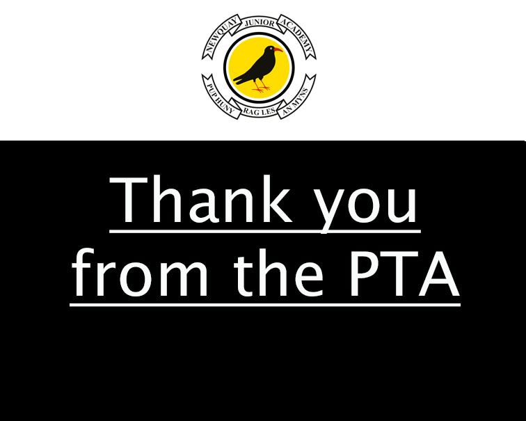 Thank you from the PTA!