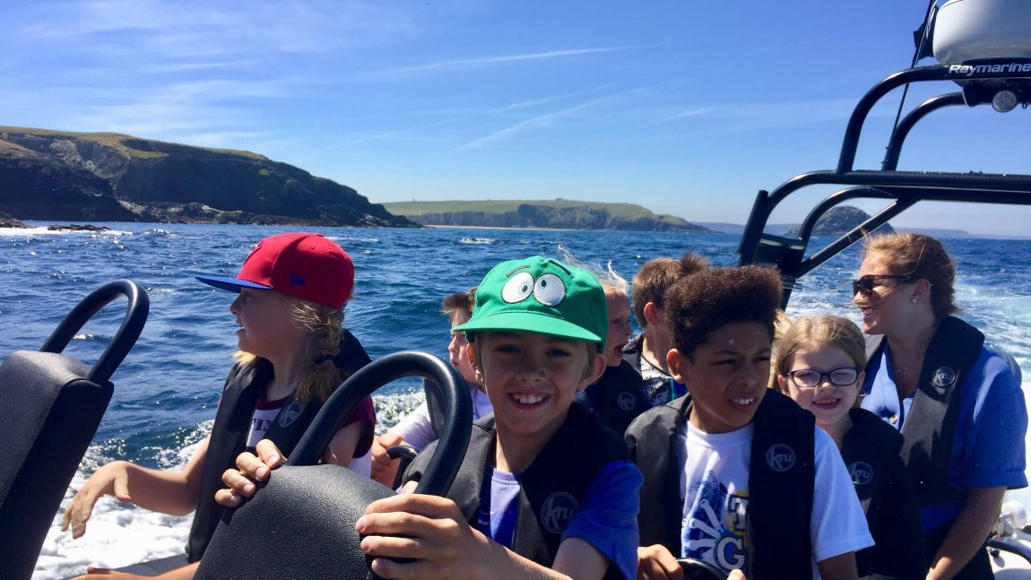 Year 3 Encouraging Writers Speed Boat Trip