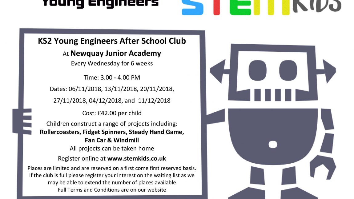 Young Engineers After School Club