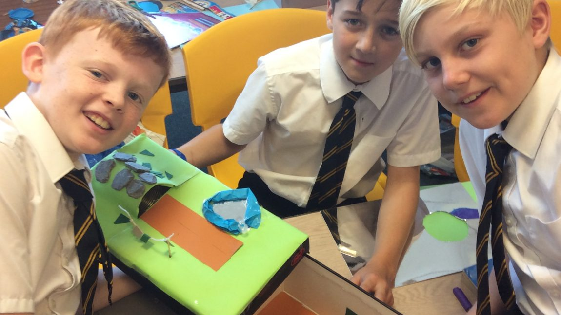 Air Raid Shelters – Year 6
