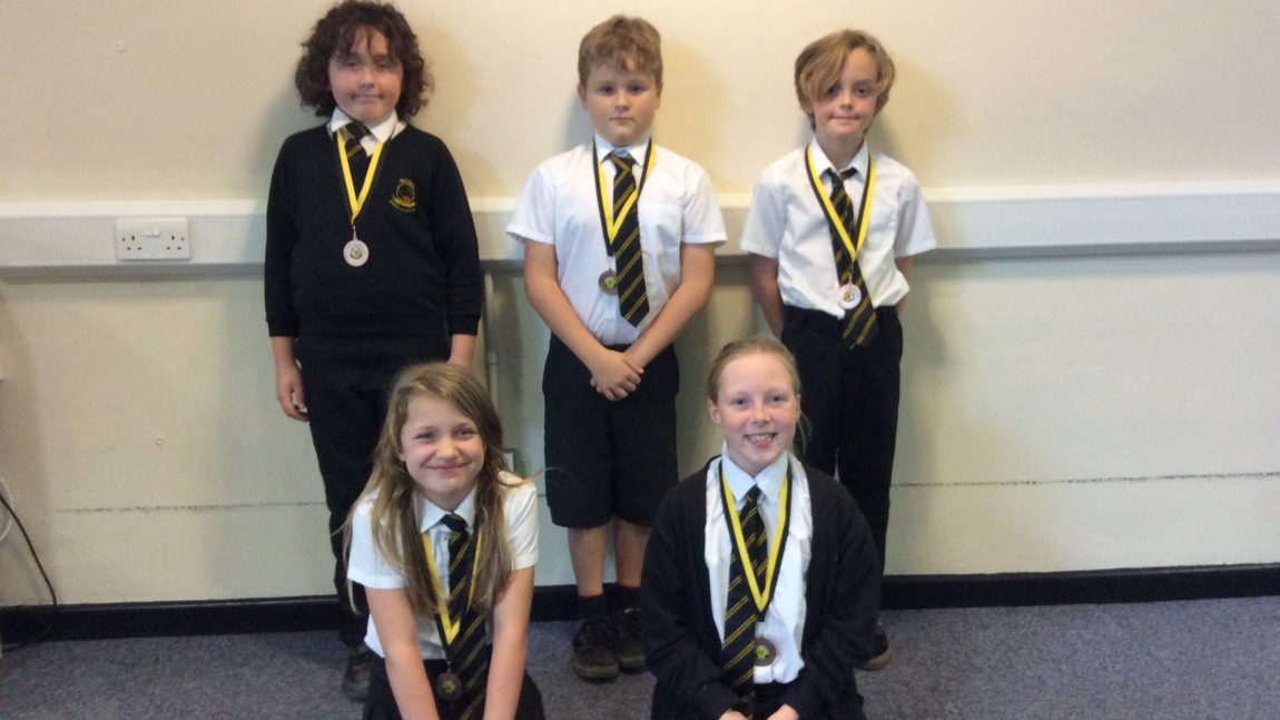 Yellow Certificate and Medal Winners – 16th November 2018