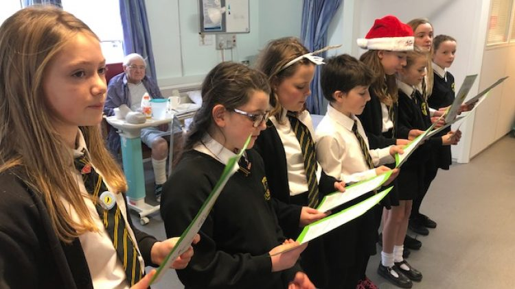 NJA Choir – Newquay Hospital Visit