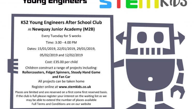 KS2 Young Engineers After School Club