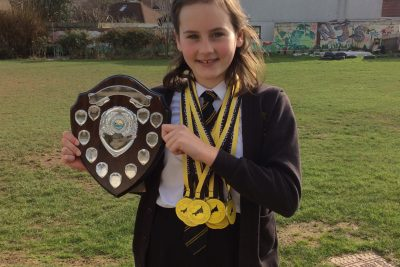 Well Done Teyah – Cornwall County Swim Championships