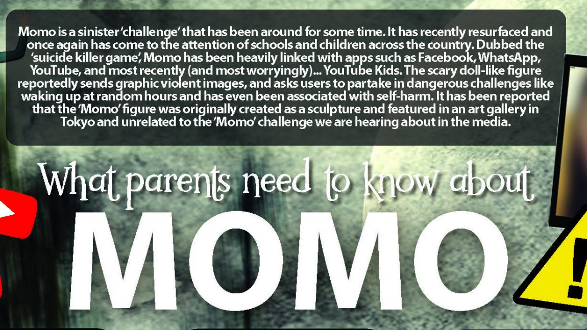 Momo Guidance for Parents & Carers