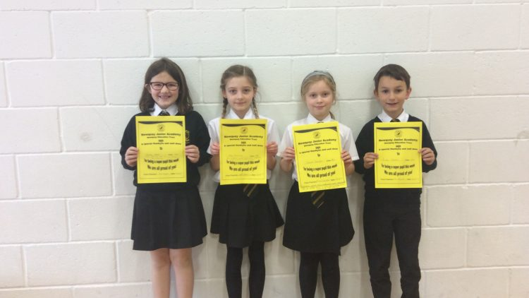 Yellow Certificate and Medal Winners – 22nd March 2019