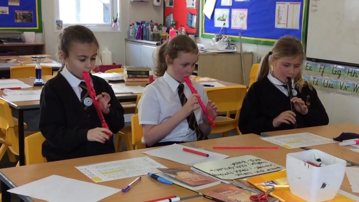 Year 3/4 Recorder Club
