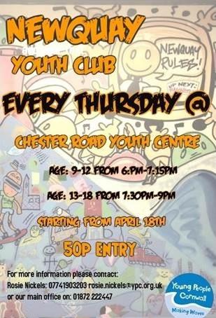 Newquay Youth Club