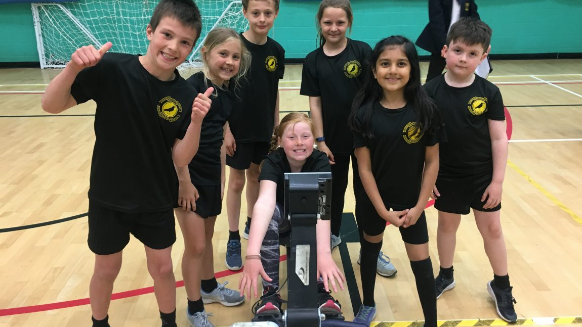 Indoor Rowing – Year 4