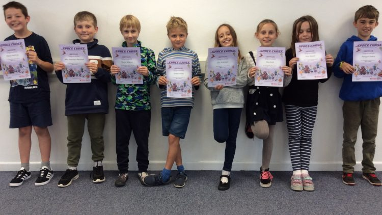 Yellow Certificate and Medal Winners – 11th October 2019