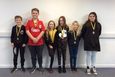 Yellow Certificate and Medal Winners – 8th November 2019