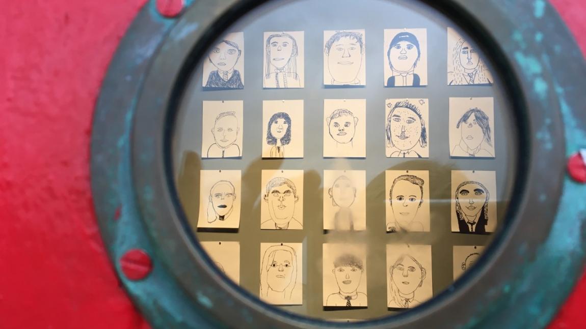 Self-Portraits – Art Club