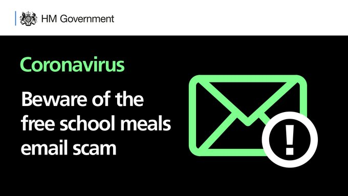 Email Scam – Free School Meals