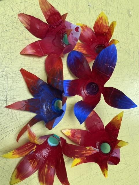 Flowers, Butterflies and Sharks