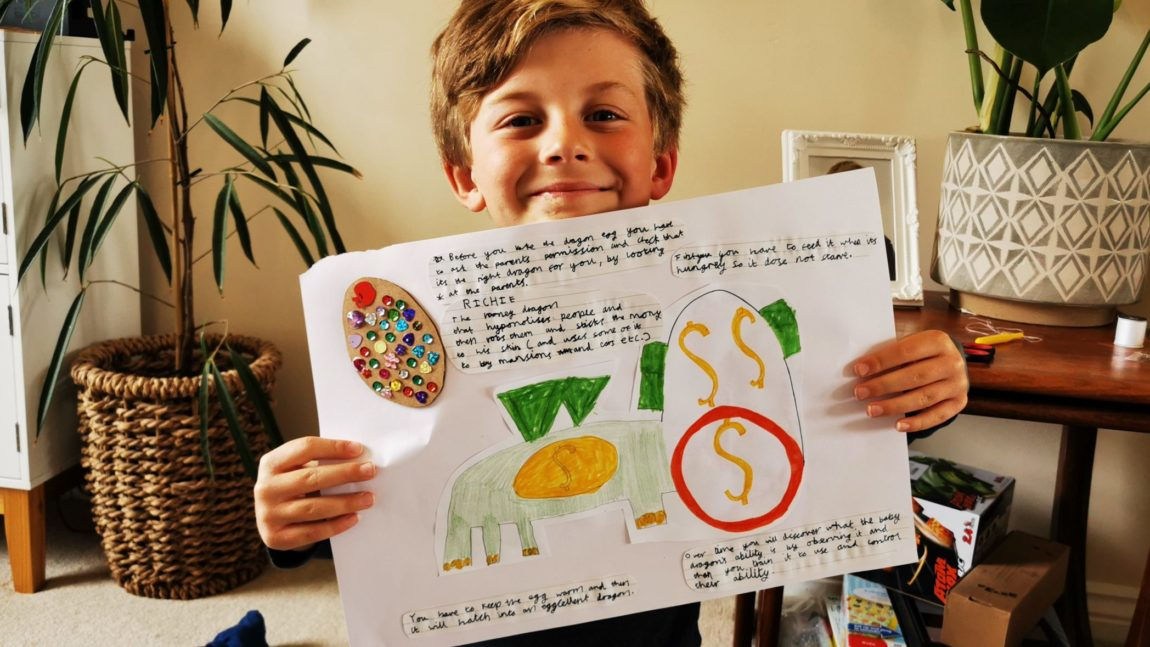 Home Learning – Great Examples
