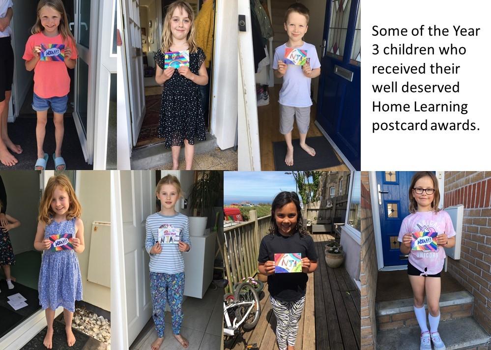 Year 3 – Weekly Postcard Winners