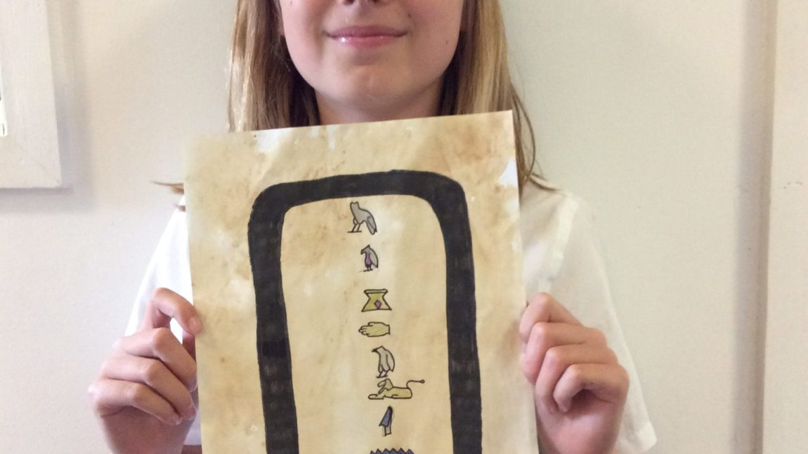 Cartouches – Year 6