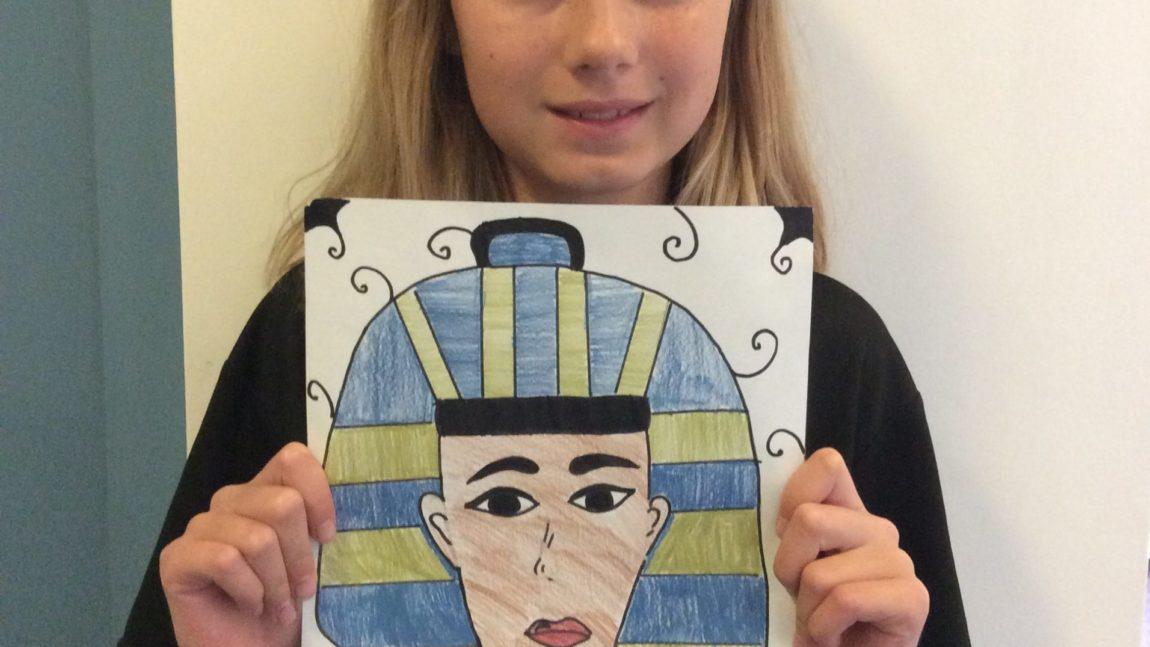 Tutankhamun's Mask – Year 6