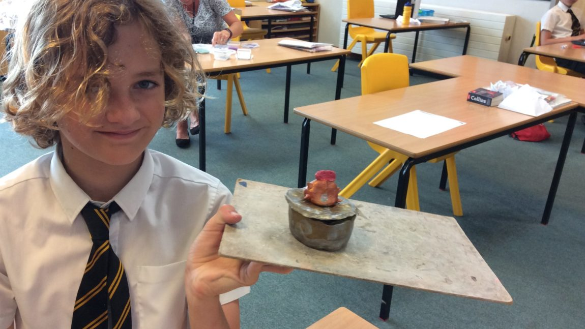Year 6 – Canopic Jars 25/06