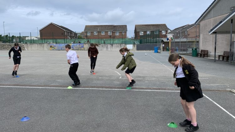 Speed Bounce Challenge – Year 6