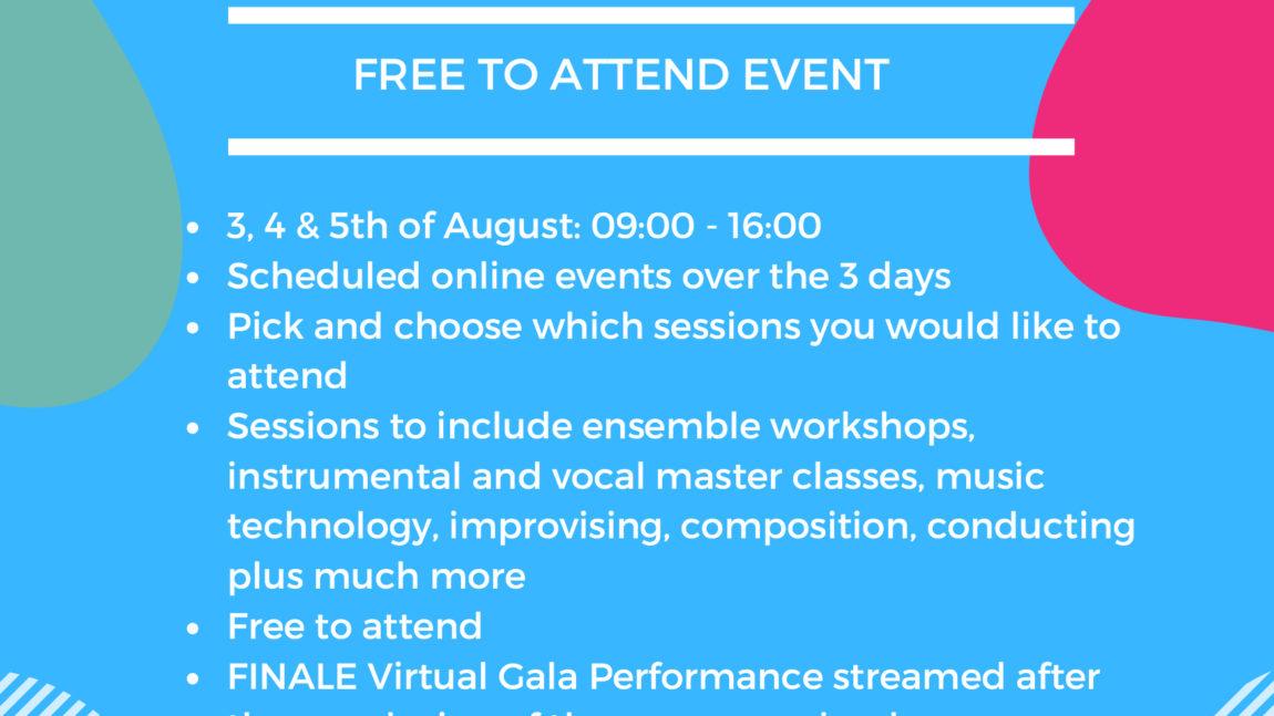 Virtual Music Summer School 2020