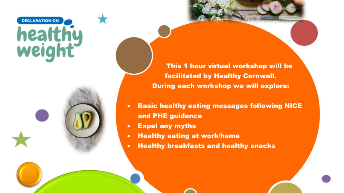 Healthy Eating – Virtual Workshops
