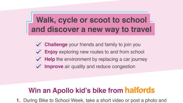 Bike to School Week 2020