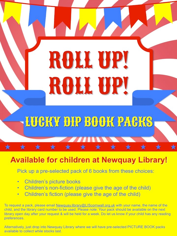 Newquay Library – Lucky Dip